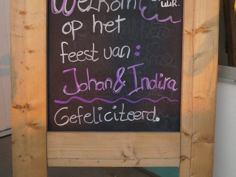 Feest Indira & Johan
