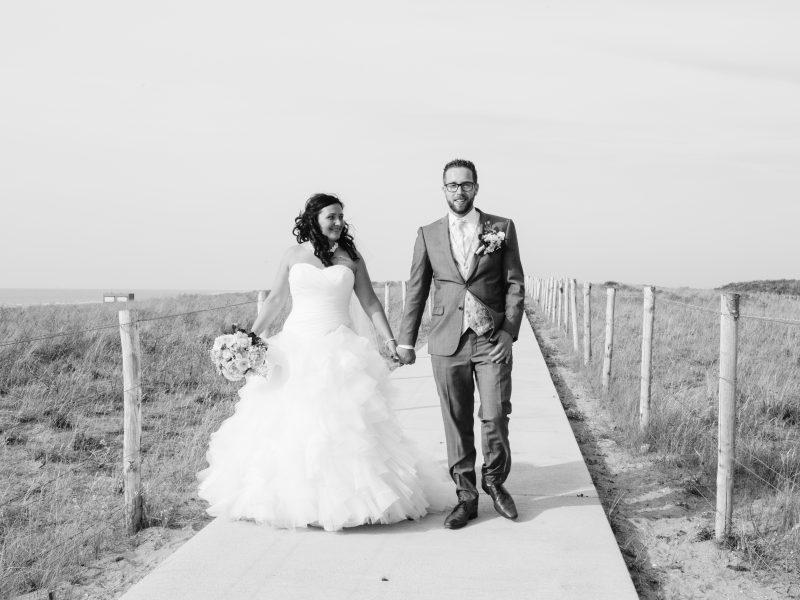 Trouwdag Sonja en Perrie, seizoen 2015